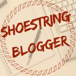 Shoestring Blogger